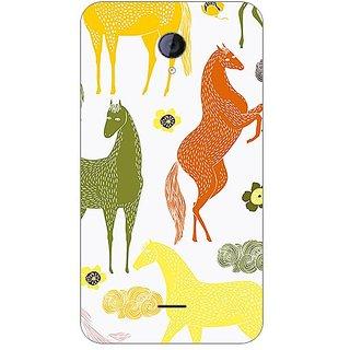 Garmor Designer Plastic Back Cover For Micromax Unite 2 A106