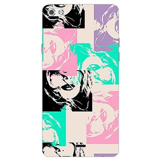 Garmor Designer Plastic Back Cover For Micromax Canvas Sliver 5 Q450