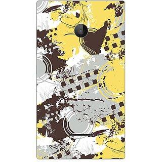 Garmor Designer Plastic Back Cover For Microsoft Lumia 532