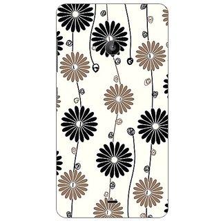 Garmor Designer Plastic Back Cover For Microsoft Lumia 535