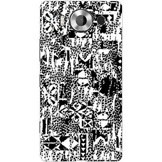 Garmor Designer Plastic Back Cover For Microsoft Lumia 950