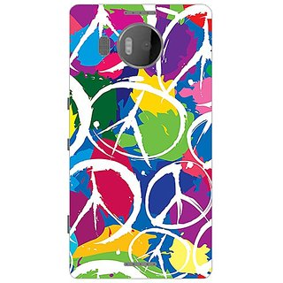 Garmor Designer Plastic Back Cover For Microsoft Lumia 950 Xl