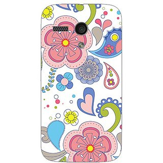 Garmor Designer Plastic Back Cover For Motorola Moto G
