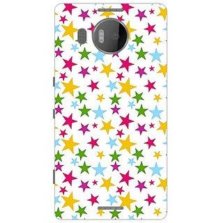 Garmor Designer Plastic Back Cover For Microsoft Lumia 950 Xl