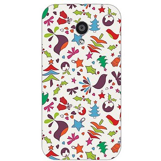 Garmor Designer Plastic Back Cover For Motorola Moto G2