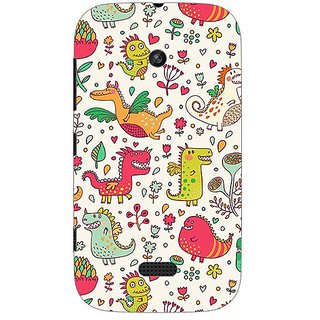 Garmor Designer Plastic Back Cover For Nokia Lumia 510