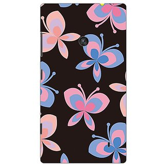 Garmor Designer Plastic Back Cover For Nokia Lumia 520