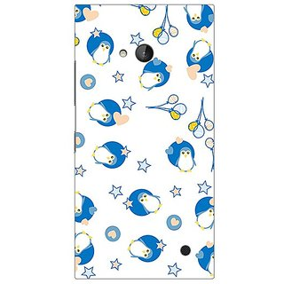 Garmor Designer Plastic Back Cover For Nokia Lumia 730