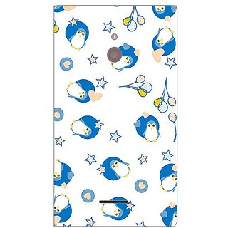 Garmor Designer Plastic Back Cover For Nokia Xl