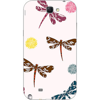 Garmor Designer Plastic Back Cover For Samsung Galaxy Note Ii N7100