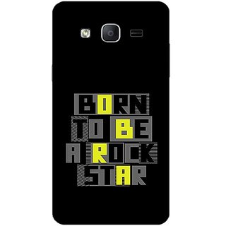 Garmor Designer Plastic Back Cover For Samsung Galaxy On7