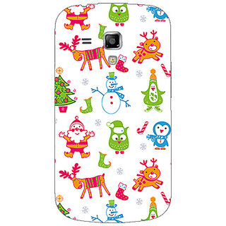 Garmor Designer Plastic Back Cover For Samsung Galaxy S Duos 2 S7582