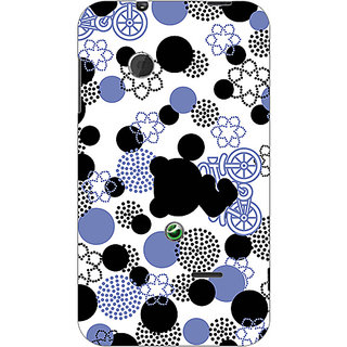 Garmor Designer Plastic Back Cover For Sony Xperia Tipo