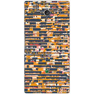Garmor Designer Plastic Back Cover For Sony Xperia U