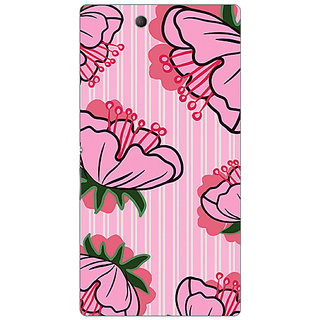 Garmor Designer Plastic Back Cover For Sony Xperia Z Ultra