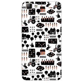 Garmor Designer Plastic Back Cover For Vivo V1