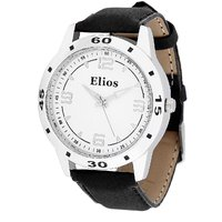 Elios Fasionable White Dial Watch for Men