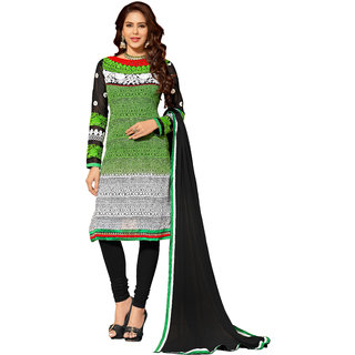 Lovely Look Multicolor Embroidered Un-Stitched Straight Suit LLKKFIG32002
