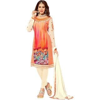 Lovely Look Multicolor Embroidered Un-Stitched Straight Suit LLKKFIG32005