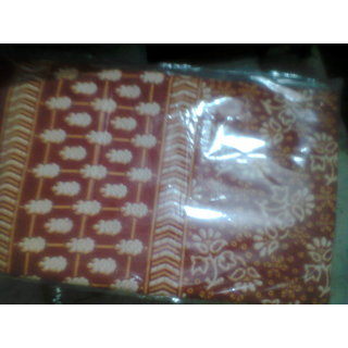 Designer Double Bedsheet Bedcover 3Pc (1 Bed Sheet 2 Pillow Covers