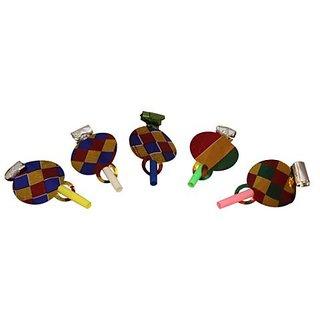 Multicolor Gloss Blowouts