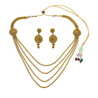 Simaya Fashion Brings Traditional Style Necklace Set - Tn 0010