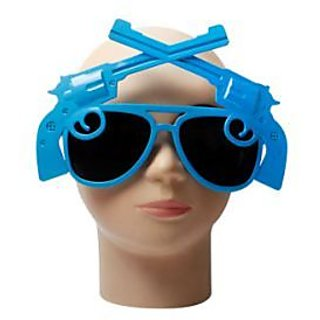 Gun Glasses - Blue