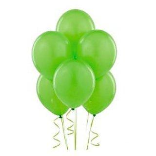 Green Metallic Balloons - A Pack Of 25