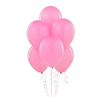 Pink Metallic Balloons - A Pack Of 25