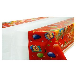 Happy Birthday Table Cover Clown