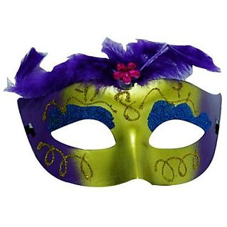 Showgirl Eye Mask - Purple