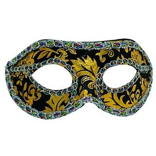 Velvet Eye Mask-Black