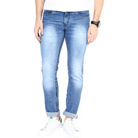 3Concept Blue Slim Fit Jeans For Men-abc203c