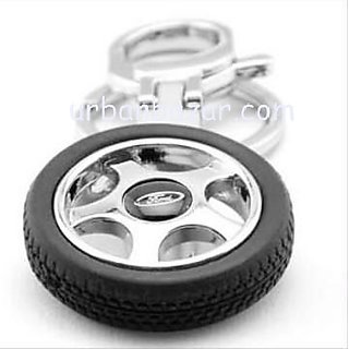 Ford Wheel Tyre Keychain Car Bike Logo Key Chain