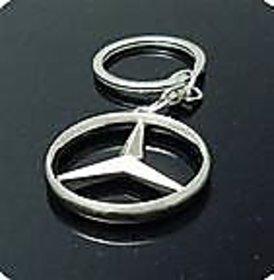 Mercedes Benz Stylish Key Chain Metallic Keychain Car Bike