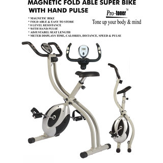 Protoner Magnetic Foldable Cycle With Hand Pulse