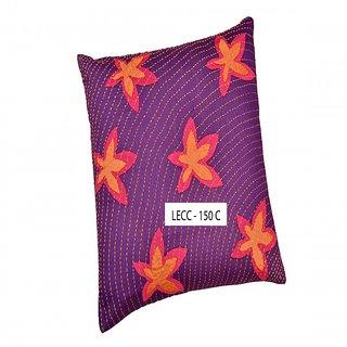 Legacy Exim 100% Handmade Designer Cotton-Silk Cushion cover