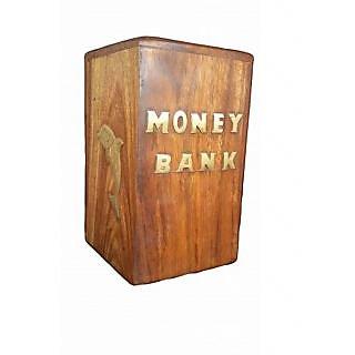 Desi Karigar beautiful Brown Money Bank