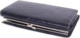 POOJA Original GENUINE Leather Ladies Wallet Ladies Purse Ladies money purse LW102BL