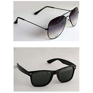 Derry Combo Black Aviator  Black Wayfarer-DCOM001