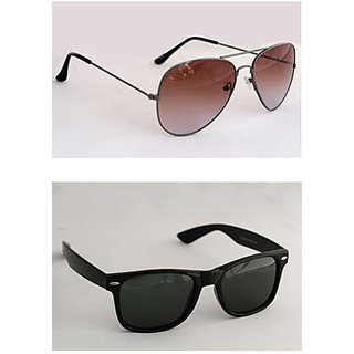 Derry Combo Brown Aviator  Black Wayfarer-DCOM051