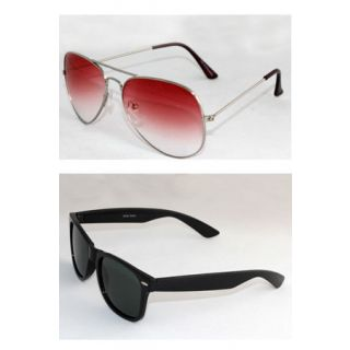 Derry Combo Red aviator  Black Wayfarer-DCOM068