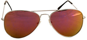 Derry Sunglasses in Aviator Style in Lavish Shade in Mercury With Mirror Lens DERY256