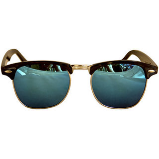 Derry Multicolour UV Protection Club-Master Unisex Sunglasses