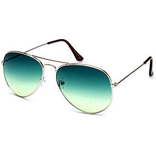 Derry Green UV Protection Aviator Men Sunglasses