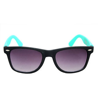 Derry Sunglass in Wayfarer style in Black And Blue DERY178