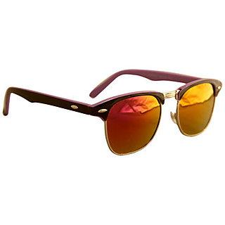 Derry Multicolour UV Protection Club-Master Men Sunglasses