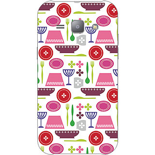 Garmor Designer Plastic Back Cover For Samsung Galaxy J1 Ace Sm-J110