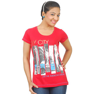 928a6338601d7 Buy Sportking Black Mentor Ladies Top Design 3 Online- Shopclues.com