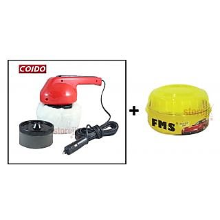 Auto express Car Polishing Combo - Coido Car Polisher And Fms Wax